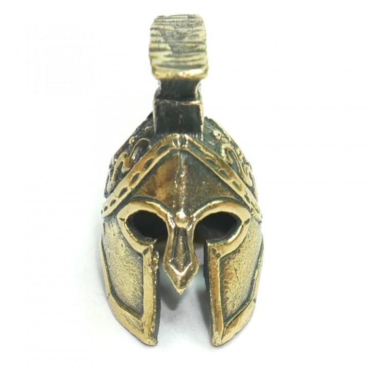Бусина Шлем Спартанца