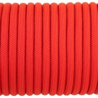 Paracord Type III 550, Simple Red #071