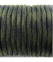 Paracord Type III 550, Camo Black&Olive #032