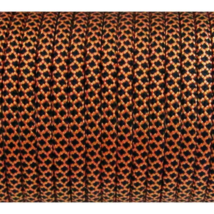 Паракорд 550 Type III, Grid Orange&Black #155