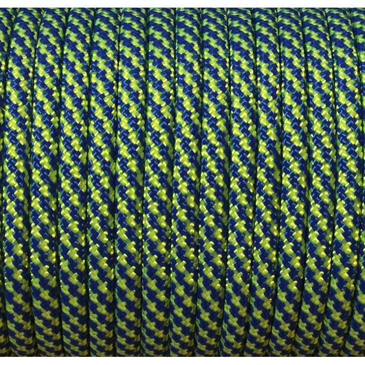 Паракорд 550, Type III, Spiral Blue&LimeGreen #158
