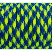 Paracord Type III 550, Camo Blue&LimeGreen #162