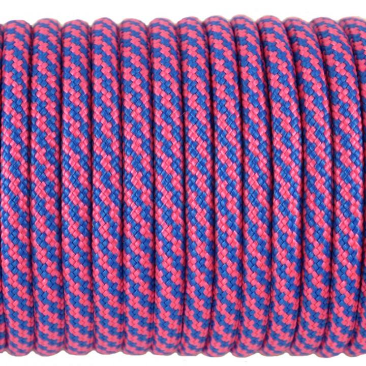 Паракорд 550, Type III, Spiral Simple Blue&Pink #180