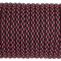 Paracord Type III 550, Viper Black&Pink #186