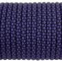 Паракорд 550, Type III, Grid Black&Violet #189