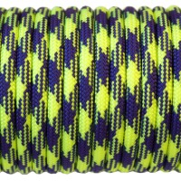 Paracord Type III 550, Camo LimeGreen&Violet #192