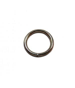 Кольцо сварное 26мм. х 3,7мм., не разъёмное, цвет - никель