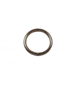 Кольцо сварное 26мм х 3,2мм, не разъёмное, цвет - никель