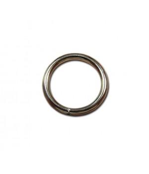 Кольцо сварное 30мм. х 3,7мм., не разъёмное, цвет - никель
