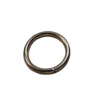 Кольцо сварное 30мм. х 4,2мм., не разъёмное, цвет - никель