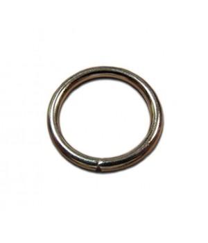 Кольцо сварное 36мм. х 4,2мм., не разъёмное, цвет - никель