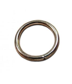 Кольцо сварное 39мм. х 4мм., не разъёмное, цвет - никель
