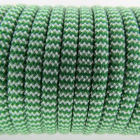 Paracord Type III 550, Mexico White&PineGreen #047