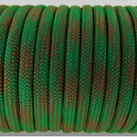 Paracord Type III 550, Camo Coyote&PineGreen #050