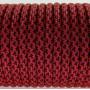 паракорд 550 Type III, Leopard Red&Black #076
