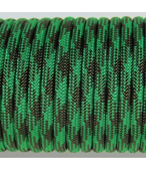 Paracord Type III 550, Camo PineGreen&Olive #084