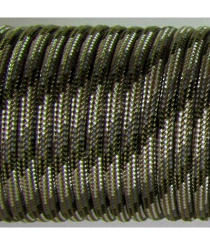 Paracord Type III 550, Arrow Coyote&SilverGrey&Grey&Olive #119