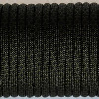 Paracord Type III 550, Grid Olive&Black #131