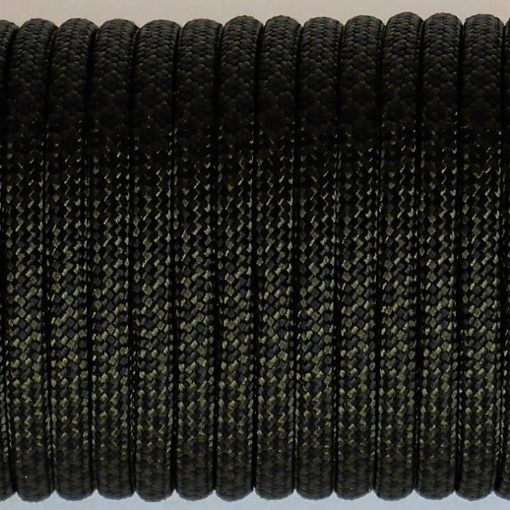 Паракорд 550, Type III, Grid Olive&Black #131
