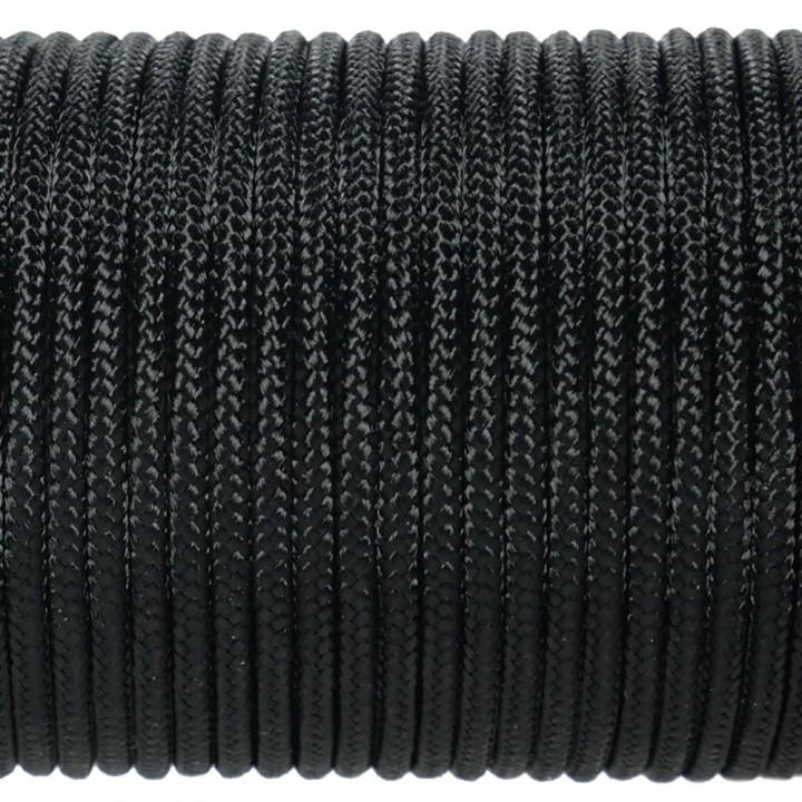 Паракорд 100 Type I, Simple Black #001m