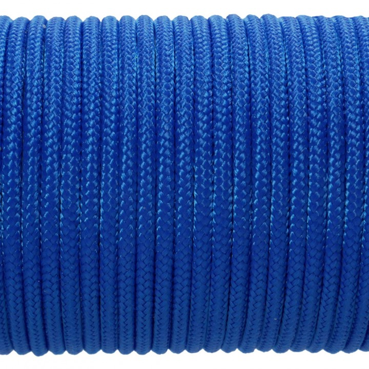 Паракорд 100 Type I, Simple Blue #003m