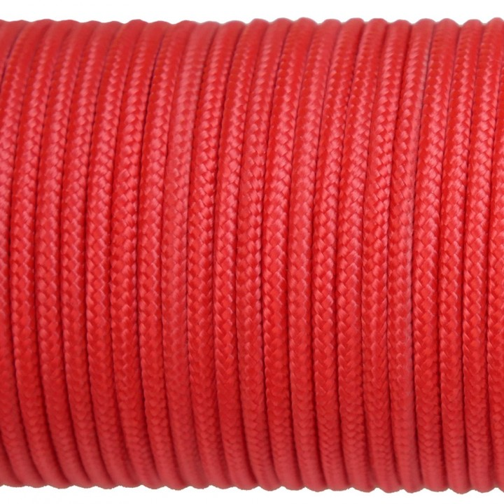 Paracord Type I 100, Simple Simple Red #072m