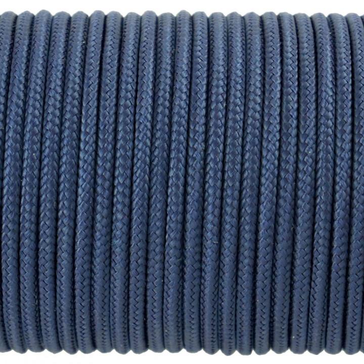 Паракорд 100 Type I, Simple Navy Blue #092m