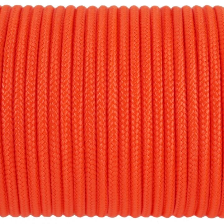Паракорд 100 Type I, Simple Neon Orange #134m