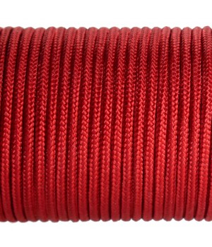 Paracord Type I 100, Simple Dark Red #164m