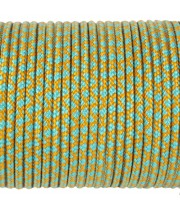 Paracord Type I 100, Grid Pumpkin&SkyBlue #175m