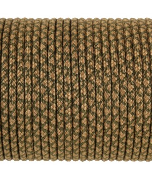 Paracord Type I 100, Grid Olive&Coyote #177m