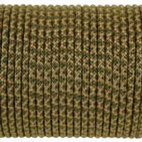 Paracord Type I 100, Grid Coyote&Olive #178m