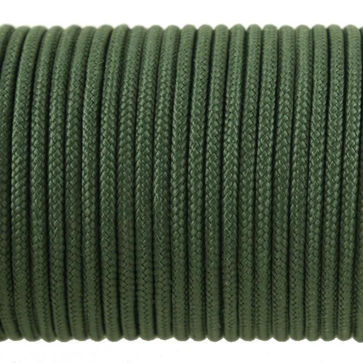 Паракорд 100 Type I, Simple Dark Green #182m